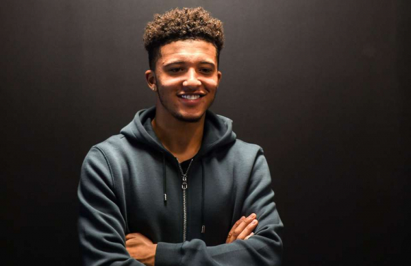 Jadon Sancho's old Twitter account has been found - and it's pure gold