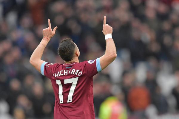 West Ham boss Manuel Pellegrini hails supersub Javier Hernandez after double against Huddersfield