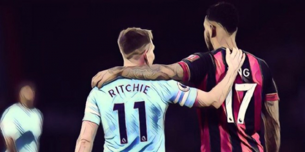 Ritchie says he still has 'a lot of respect' for Bournemouth after netting dramatic equaliser