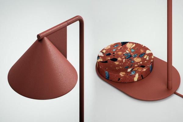 A Beautifully Minimalistic Rock Lamp