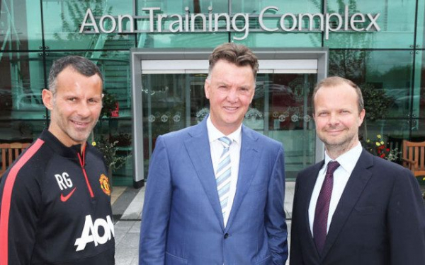 Louis van Gaal SLAMS Ed Woodward over manner of replacing him at Man Utd with Mourinho