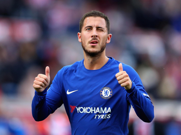 Chelsea transfer news: Eden Hazard responds to speculation he has agreed contract with Real Madrid