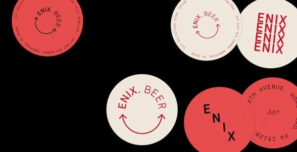 ENIX Brewing CO. branding