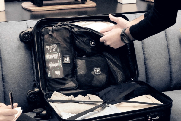 This smart suitcase has a built-in checklist to remind you what to pack!