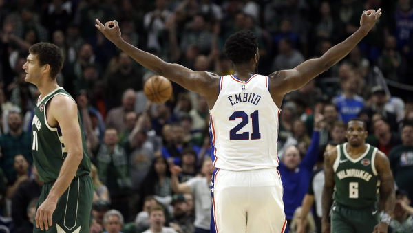 Three Things to Know: Giannis Antetokounmpo looks like MVP, 76ers look like playoff threat