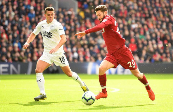 Adam Lallana's highlights vs Burnley show he was the 'game-changer' Liverpool needed