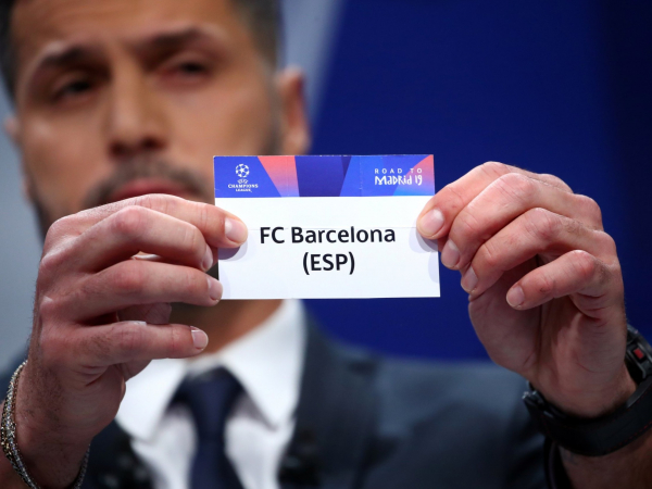 Champions League draw: Manchester United face Barcelona in quarter-finals