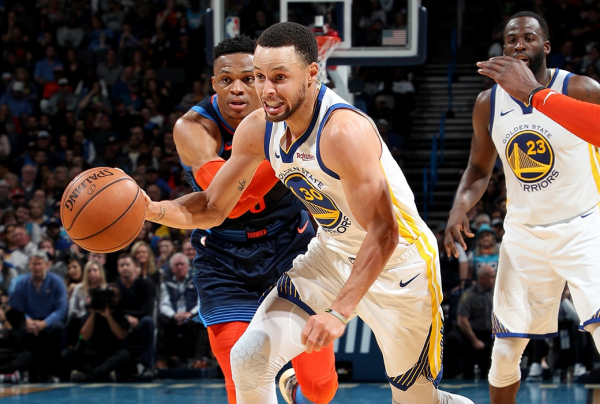 Post Up: Curry, Thompson Lead Warriors To Blowout Win in OKC ?