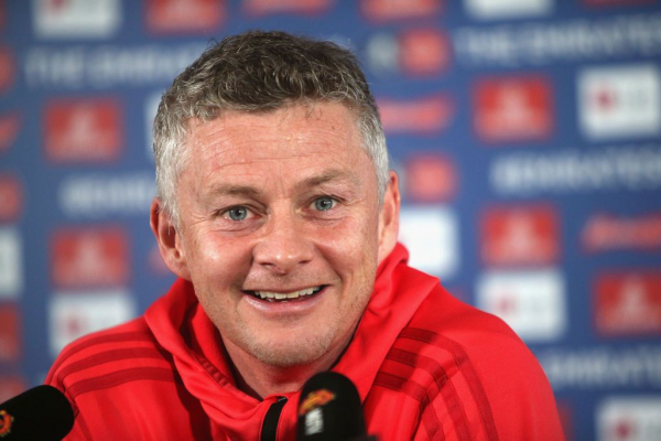 Ole Gunnar Solskjaer reacts to Champions League quarter-final draw as Manchester United face Barcelona