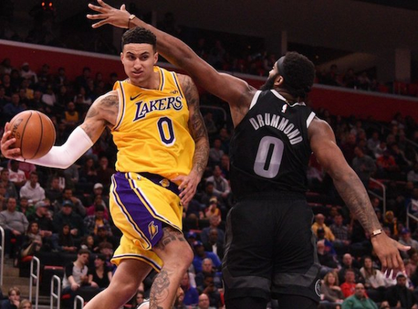 Lakers News: Luke Walton Credits Kyle Kuzma For 'Best Playmaking Game By Far' In Loss To Pistons
