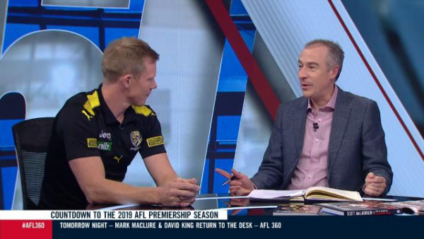 AFL 360: Richmond star Jack Riewoldt explains his 50 metre penalty against Hawthorn