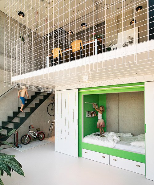 FABRICations maximizes interaction with flexible layout of the casco loft in amsterdam