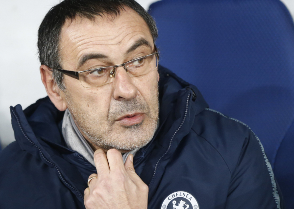 Maurizio Sarri impressed by two Dynamo Kyiv players after Chelsea's 5-0 win in the Europa League