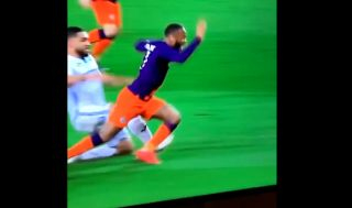 Video: Raheem Sterling with a shocking dive for Manchester City against Swansea