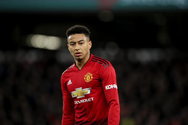 Arsenal fans mock Jesse Lingard after Manchester United's FA Cup defeat to Wolves