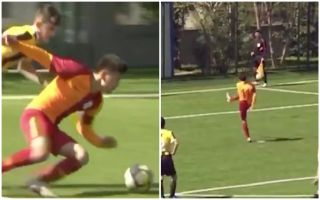 Video: AMAZING sportsmanship as 13-year-old Galatasaray starlet misses penalty on purpose after wrong call