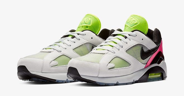 """Nike unveils """"Berlin techno""""-themed trainers, Air Max 180 BLN"""