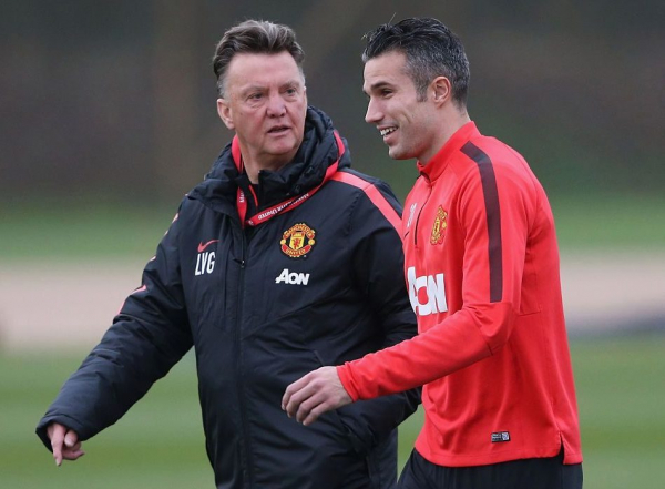 Robin van Persie was 'not fit enough' for Manchester United, claims Louis van Gaal