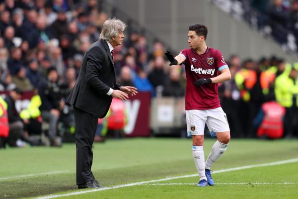 West Ham man Samir Nasri: I have seven games left to impress Manuel Pellegrini