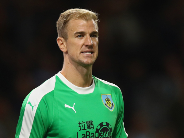 Hart hailed by Heaton during testing time for Burnley's former Man City keeper