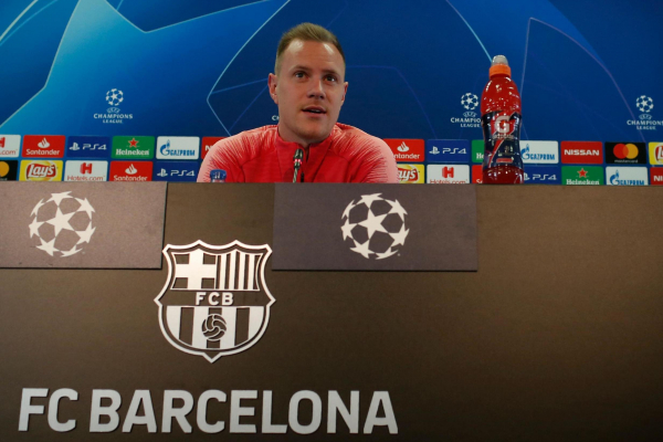 Barcelona want to dominate clash with Man Utd as Marc-Andre ter Stegen warns: We play differently to PSG