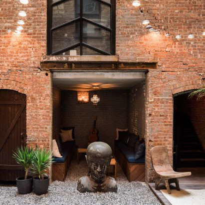 Habitas members' clubhouse opens in old New York fire station