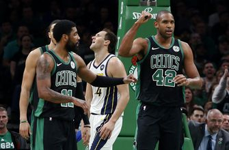 Irving, Morris lead Celtics' rally past Pacers in Game 1