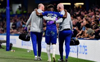 (Photo) Hudson-Odoi drops hint over Chelsea future following injury for Blues against Burnley