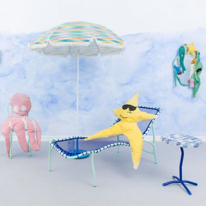 """Superpoly creates whimsical furniture collection """"tinged with sunshine"""""""