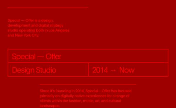 Special–Offer Studio