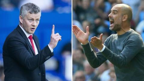 Guardiola unhappy with Man Utd boss Solskjaer's claim Man City will 'kick you'