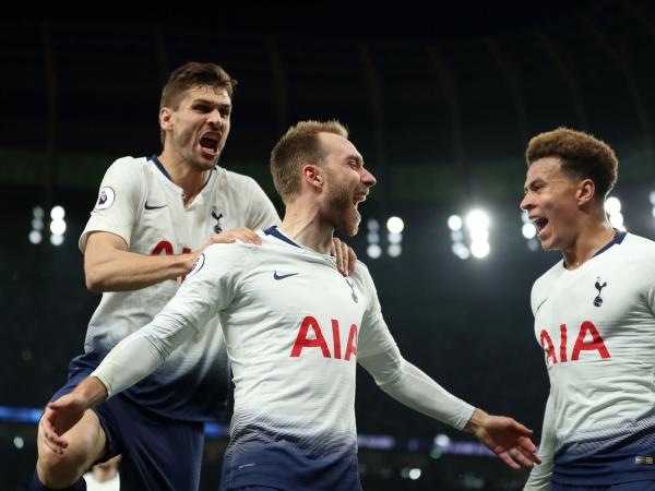 Tottenham vs Brighton result: Christian Eriksens hammer blow leaves Seagulls with a hopeless grimace