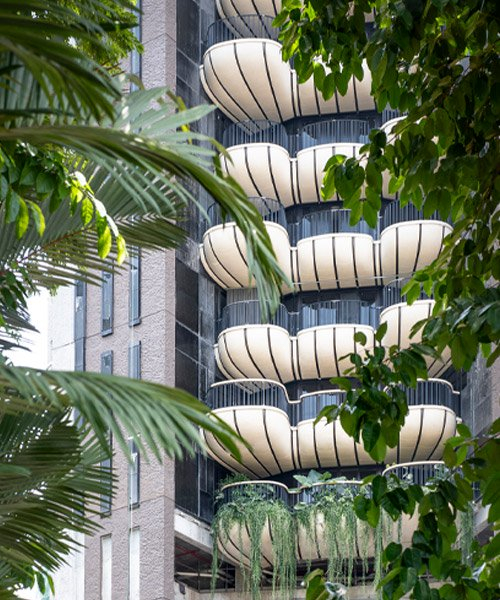 heatherwick studio unveils first residential project 'EDEN' in singapore