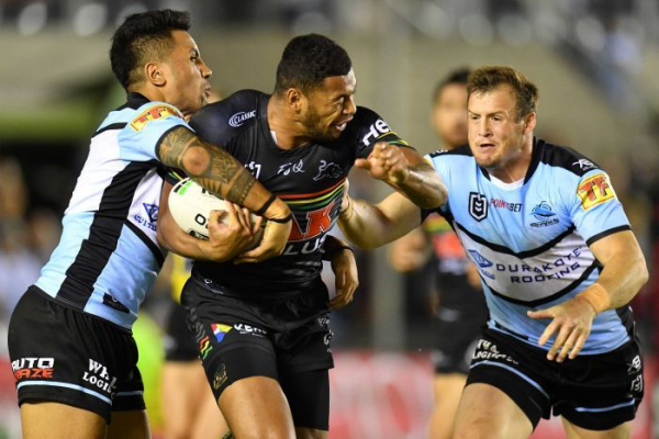 Sharks storm home over slumping Panthers