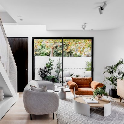 Newly built townhouses in Melbourne channel art-deco era architecture