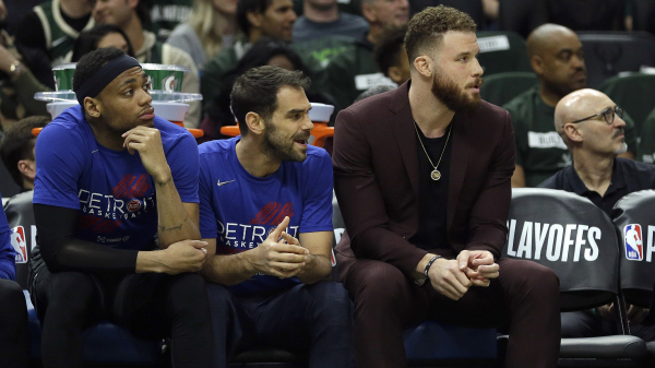 Report: Blake Griffin likely sidelined entire series with Bucks due to knee pain