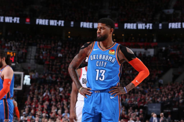 Paul George: 'Four Days Ago I Couldn't Even Lift My Shoulder'