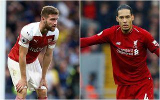Arsenal fan tries to argue Shkodran Mustafi is better than Liverpool star Virgil van Dijk