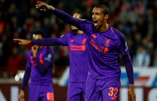 Video of Joel Matip playing out from the back for Liverpool is so good it's gone viral