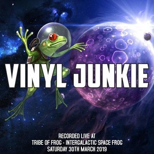 Vinyl Junkie – LIVE @ Tribe Of Frog – 30.3.2019
