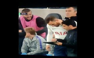 Video: Dier's hilarious reaction to Janssen coming on for Spurs against Brighton after injury lay-off