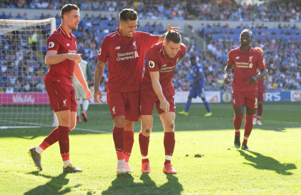 Salah fans attack Milner on social media after he didn't let him take Cardiff penalty