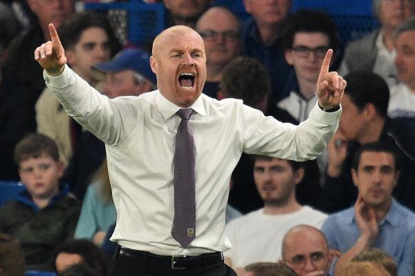 Chelsea vs Burnley: Sean Dyche responds to David Luizs anti-football dig