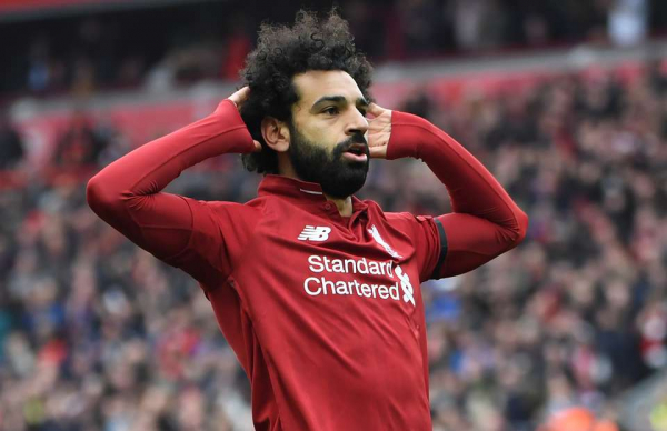 Liverpool fans produced two minutes of incredible noise after Salah's rocket vs Chelsea