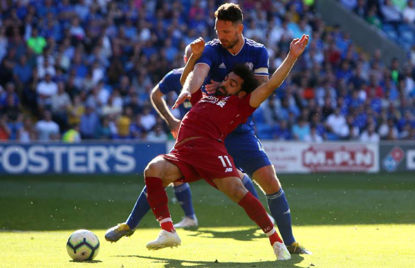 Neil Warnock likens Mo Salah to Olympic diver Tom Daley after winning penalty v Cardiff