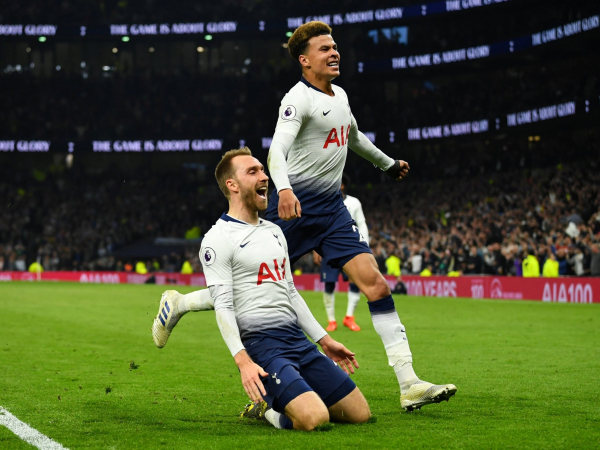 Tottenham vs Brighton: Christian Eriksens last-gasp winner secures three vital points in top-four race