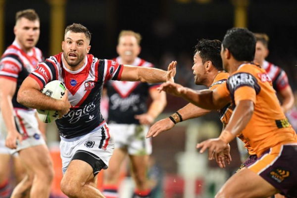 Ruthless Roosters outclass Broncos in NRL thrashing