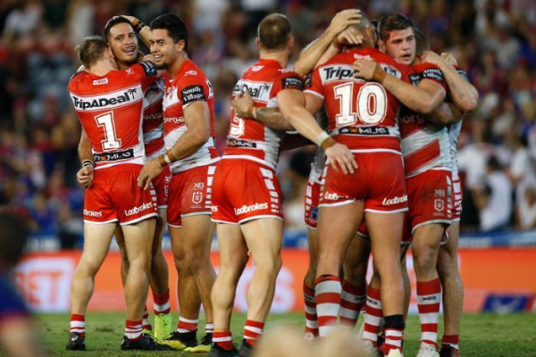 Norman guides Dragons to NRL golden-point win, Storm defeat Bulldogs