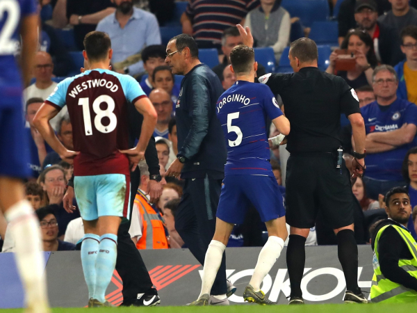 Chelsea vs Burnley: FA reviewing claims Maurizio Sarri was verbally abused by Clarets staff