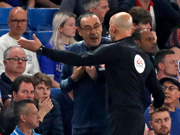 Chelsea vs Burnley: Blues set to make complaint to FA over Clarets staff offending Maurizio Sarri in touchline row